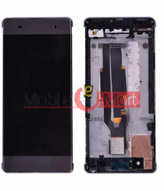 Lcd Display With Touch Screen Digitizer Panel Combo Folder Glass For  Sony Xperia XA (Black)