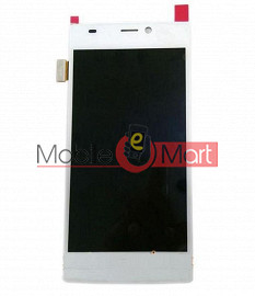 Lcd Display With Touch Screen Digitizer Panel Combo Folder Glass For Gionee Elife S5.5 (Black)