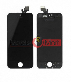 Lcd Display With Touch Screen Digitizer Panel Combo Folder Glass For Apple Iphone 5s (Black)