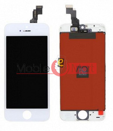 Lcd Display With Touch Screen Digitizer Panel Combo Folder Glass For Apple iPhone 5c (Black)