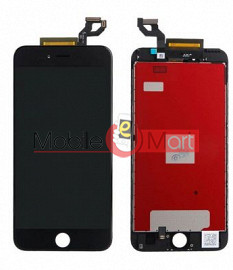 Lcd Display With Touch Screen Digitizer Panel Combo Folder Glass For Apple iPhone 6s Plus (Black)