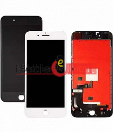 Lcd Display With Touch Screen Digitizer Panel Combo Folder Glass For Apple IPhone 8g (Black)