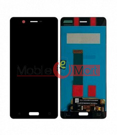 Lcd Display With Touch Screen Digitizer Panel Combo Folder Glass For Nokia 5 (Black)