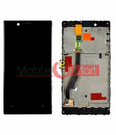 Lcd Display With Touch Screen Digitizer Panel Combo Folder Glass For Nokia Lumia 720 (Black)