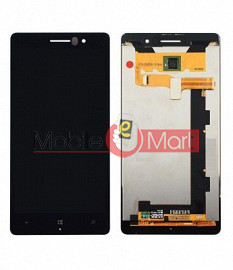 Lcd Display With Touch Screen Digitizer Panel Combo Folder Glass For Nokia Lumia 830 (Black)
