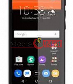 Lcd Display With Touch Screen Digitizer Panel Combo Folder Glass For Infocus M460 (Black)