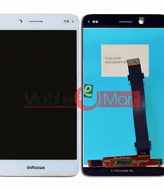 Lcd Display With Touch Screen Digitizer Panel Combo Folder Glass For InFocus M535 (Black)