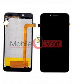 Lcd Display With Touch Screen Digitizer Panel Combo Folder Glass For InFocus M260 (Black)