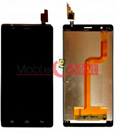 Lcd Display With Touch Screen Digitizer Panel Combo Folder Glass For InFocus M330 (BLACK)