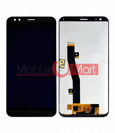 Lcd Display With Touch Screen Digitizer Panel Combo Folder Glass For InFocus Vision 3 (Black)