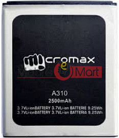 Ajah Mobile Battery For Micromax Canvas Nitro A310