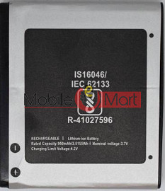 Ajah Mobile Battery For Micromax X803