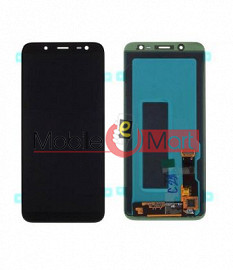Lcd Display With Touch Screen Digitizer Panel Combo Folder Glass For Samsung Galaxy J6 (Black)