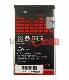 Ajah Mobile Battery For Intex Fame 301