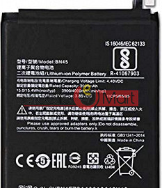 Ajah Mobile Battery For Redmi Note 5 Pro