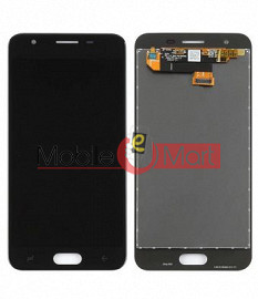 Lcd Display With Touch Screen Digitizer Panel Combo Folder Glass For Samsung Galaxy J3  (Black)