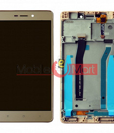 Lcd Display With Touch Screen Digitizer Panel Combo Folder Glass For Xiaomi Redmi 3S (White)