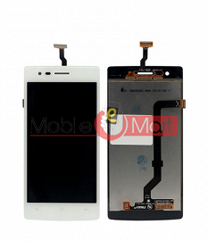 Lcd Display With Touch Screen Digitizer Panel Combo Folder Glass For Oppo Neo R831 (White)