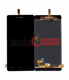 Lcd Display With Touch Screen Digitizer Panel Combo Folder Glass For Vivo Y51 (White)