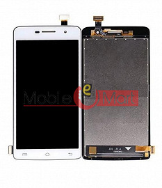 Lcd Display With Touch Screen Digitizer Panel Combo Folder Glass For Vivo Y21 (White)