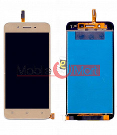 Lcd Display With Touch Screen Digitizer Panel Combo Folder Glass For Vivo Y53 (White)