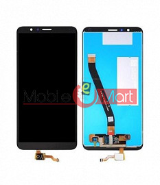 Lcd Display With Touch Screen Digitizer Panel Combo Folder Glass For Honor 7X (White)