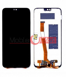 Lcd Display With Touch Screen Digitizer Panel Combo Folder Glass For Honor 10  (White)