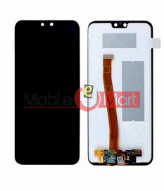 Lcd Display With Touch Screen Digitizer Panel Combo Folder Glass For Honor 9N (White)