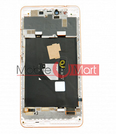Lcd Display With Touch Screen Digitizer Panel Combo Folder Glass For Gionee S Plus (White)