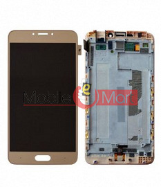 Lcd Display With Touch Screen Digitizer Panel Combo Folder Glass For Gionee S6 Pro (White)