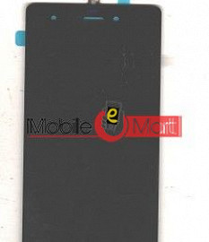 Lcd Display With Touch Screen Digitizer Panel Combo Folder Glass For Micromax Canvas Nitro 3 E352 (White)