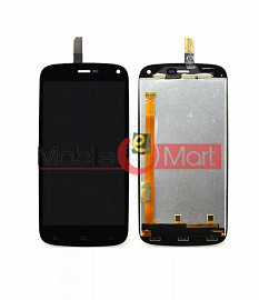 Lcd Display With Touch Screen Digitizer Panel Combo Folder Glass For Gionee Elife E3 (White)