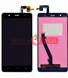 Lcd Display With Touch Screen Digitizer Panel Combo Folder Glass For Lenovo K8 Plus (White)