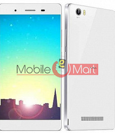 Lcd Display With Touch Screen Digitizer Panel Combo Folder Glass For Lava X10 (White)