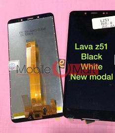 Lcd Display With Touch Screen Digitizer Panel For Lava Z51