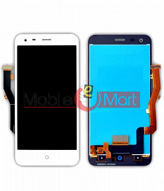 Lcd Display With Touch Screen Digitizer Panel Combo Folder Glass For Lyf Water 3 (White)