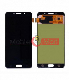 Lcd Display With Touch Screen Digitizer Panel Combo Folder Glass For Samsung Galaxy A7 2016 (Black)