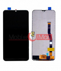 Lcd Display With Touch Screen Digitizer Panel Combo Folder Glass For Samsung Galaxy M20 (Black)