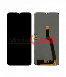 Lcd Display With Touch Screen Digitizer Panel Combo Folder Glass For Samsung Galaxy A10 (Black)