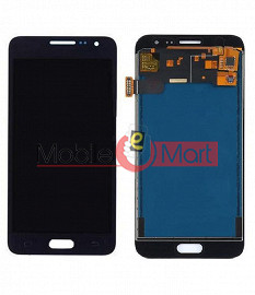 Lcd Display With Touch Screen Digitizer Panel Combo Folder Glass For Samsung Galaxy J3 (White)