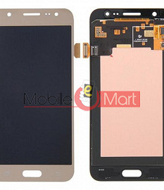 Lcd Display With Touch Screen Digitizer Panel Combo Folder Glass For Samsung Galaxy J5 2016 (Gold)