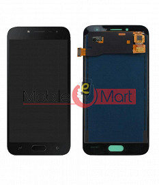 Lcd Display With Touch Screen Digitizer Panel Combo Folder Glass For Samsung Galaxy J2 Pro (Black)