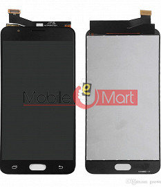 Lcd Display With Touch Screen Digitizer Panel Combo Folder Glass For Samsung Galaxy J7 Prime (Black)