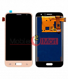 Lcd Display With Touch Screen Digitizer Panel Combo Folder Glass For Samsung Galaxy J1 2016 (White)
