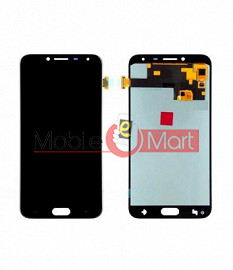 Lcd Display With Touch Screen Digitizer Panel Combo Folder Glass For Samsung Galaxy J4 (White)