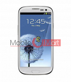 Lcd Display With Touch Screen Digitizer Panel Combo Folder Glass For Samsung Galaxy S3 (White)