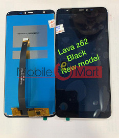 Lcd Display With Touch Screen Digitizer Panel For Lava Z62