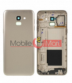 Full Body Housing Panel Faceplate For Samsung Galaxy J6 Gold