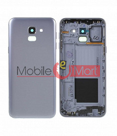 Full Body Housing Panel Faceplate For Samsung Galaxy J6 White