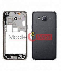 Full Body Housing Panel Faceplate For Samsung Galaxy On5 Black